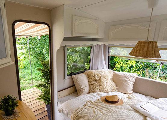 Dormir avec son van aménagé en toute tranquillité
